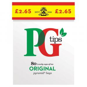PG Tips Tea Bags PM £2.65