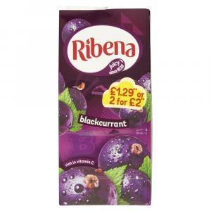 Ribena Blackcurrant PM £1.29 / 2 for £2