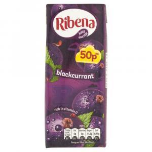 Ribena Blackcurrant PM 50p