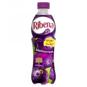 Ribena Blackcurrant PM £1.09 / 2 for £2