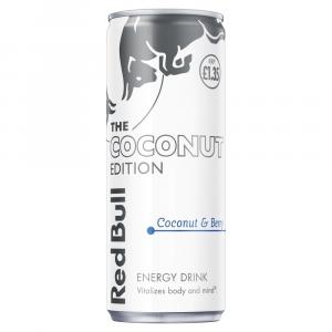 Red Bull Coconut Berry Edition, Energy Drink Sugar Free PM £1.25