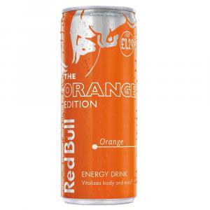 Red Bull Orange Edition, Energy Drink PM £1.29