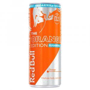 Red Bull Orange Edition Sugar Free, Energy Drink PM £1.25