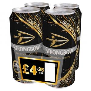 Strongbow Cider PM 4 For £4.25