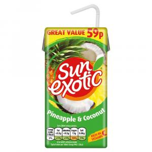 Sun Exotic Pineapple & Coconut PM59p/£6.49