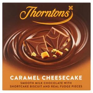 Thorntons Block Milk Caramel Cheesecake