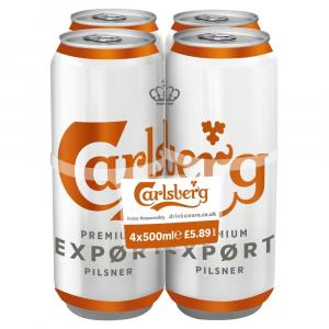 Carlsberg Export Lager   PM 4 for  £5.89