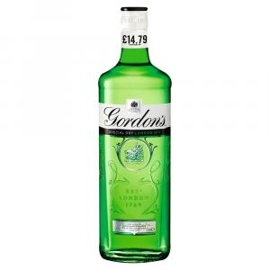 Gordons Special Dry London Gin   PM  £14.79