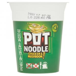 Pot Noodle Chicken & Mushroom    PM  £1.19