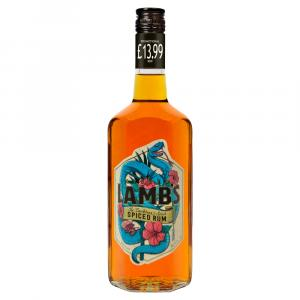 Lambs Spiced Rum  PM £13.99