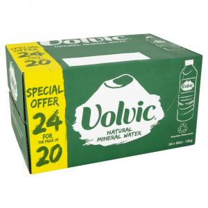 Volvic Water 24 For 20