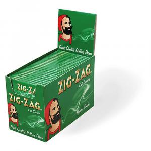 Zig Zag Rolling Papers Green