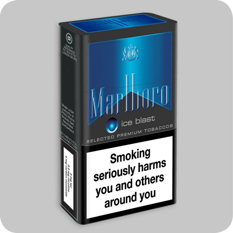 How much nicotine is in a Marlboro light pack